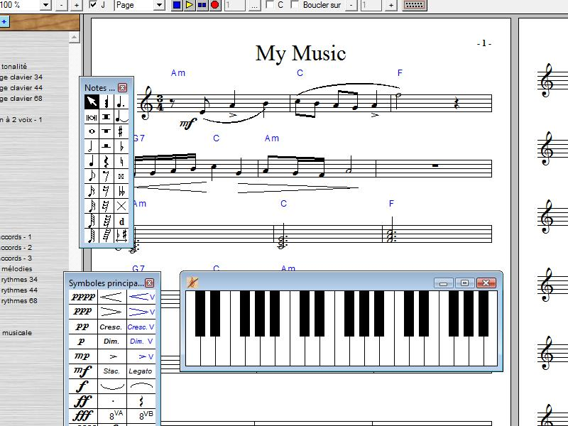 Apprendere la teoria musicale e comminciare da utilizzare un software musicale.