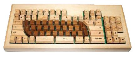 Clavier dactylographique musical